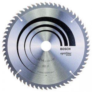 Bosch - Hoja de sierra circular Optiline