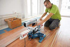 Bosch Professional GTM 12 JL - Sierra circular de mesa combinada