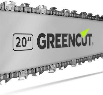 GREENCUT GS620X - Motosierra de gasolina 3,8 cv