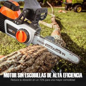 TACKLIFE Motosierra a Batería, 40V